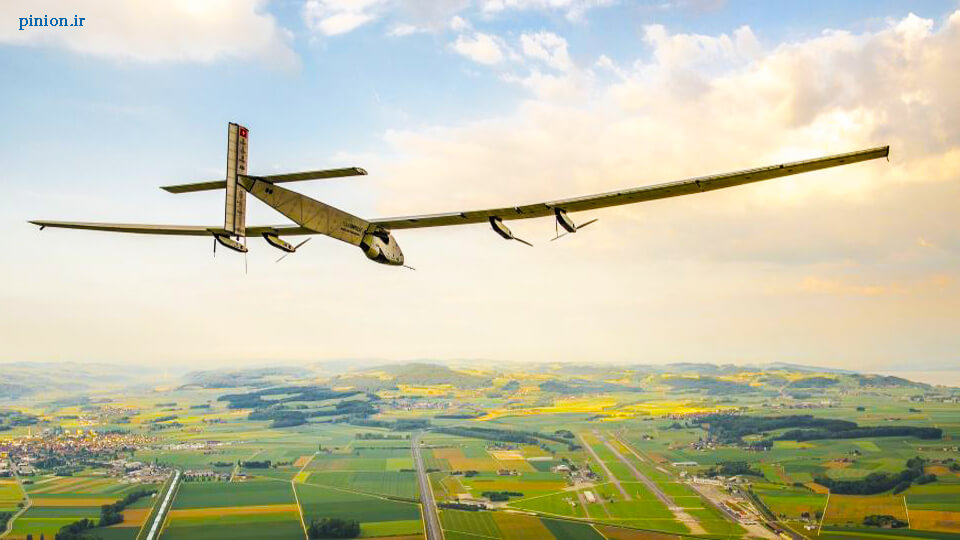 پرواز با هواپیمای انرژی خورشیدی به دور دنیا