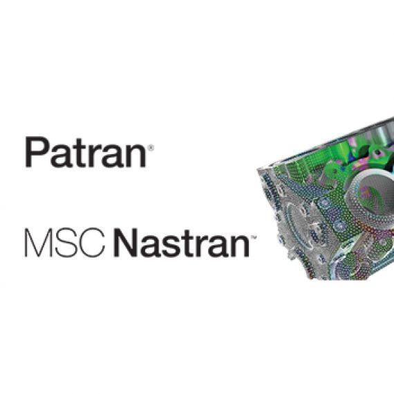نرم افزار MSC Nastran و MSC Patran