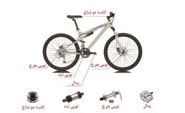 بلبرینگ در دوچرخه
