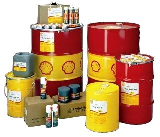 محصولات shell ، گریس و روغن شل