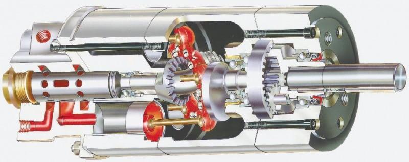 موتور پنوماتیک چرخشی