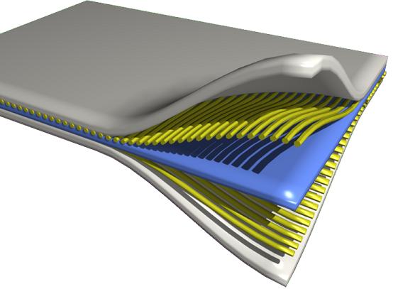 طرح 3D لایه های کامپوزیت