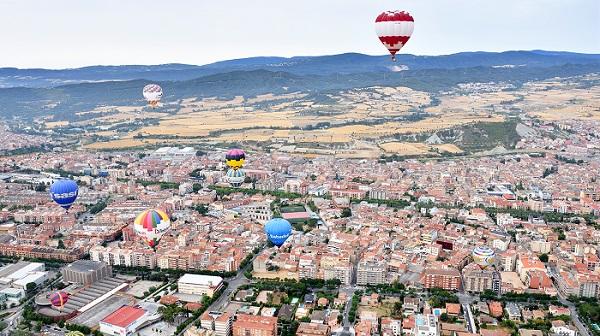 فستیوال بالن های اسپانیا