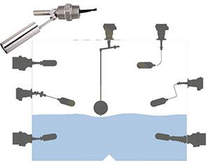 رله کنترل سطح مایعات پینیون