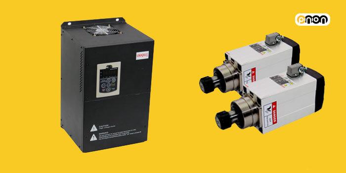 اتصال دو موتور به یک اینورتر