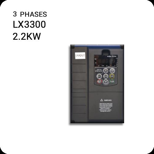 اینورتر یونیک سه فاز LX3300-2.2kw