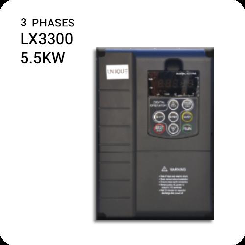 اینورتر یونیک سه فاز LX3300-5.5kw
