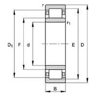 بلبرینگ NU 213